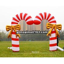 4 5mWide gigantyczne nadmuchiwane boże narodzenie łuk dmuchana choinka łuk na świeżym powietrzu nadmuchiwane dekoracje bożonarodzeniowe tanie tanio MZQM Oxford Duży odkryty nadmuchiwane rekreacji Zamek 6 lat ICH171106 Inflatable Christmas arch fully new Inflatable Christmas Arch