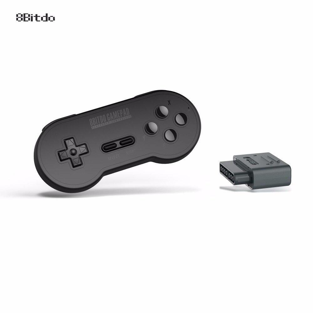 8 Bitdo SN30 Gamepad sans fil Bluetooth avec rétro Set pour Nintendo SNES SF-C