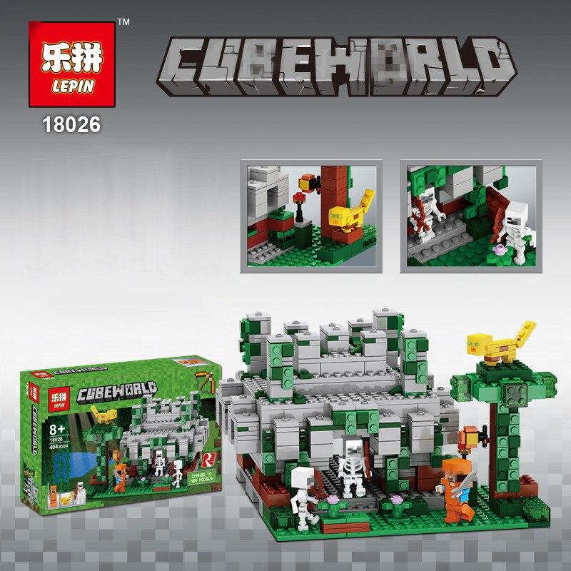 2017 Cube Minecraft Sword Espada Models Figures Building Blocks Model Set Figures 18026 Cubeworld Blocks Toys For Kids Game Toys