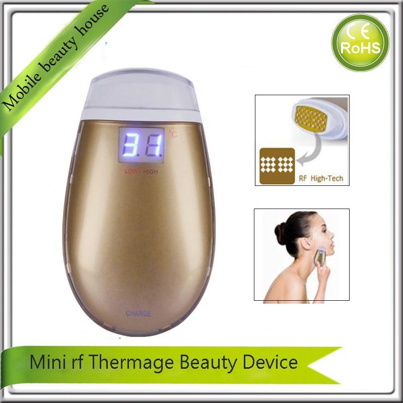 Здесь продается  LCD Temperature Control Portable Fractional Dot Matrix rf MicroVibration Wrinkle Double Chin Removal Skin Lifting Beauty Machine  Красота и здоровье