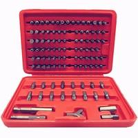 100PCS Screwdriver Bit Set For Repair Tools Torx Hex Keys For Metalworking Precision Universal Heads Hand Tool A Set of Keys