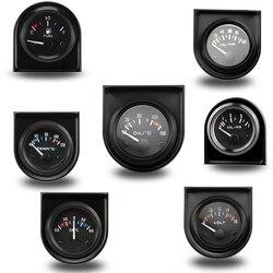 """2 """"52 MM termometr do wody/temperatura oleju/prasa do oleju psi/prasa do oleju kg/Volt/amperomierz/poziom paliwa (bez pływaka) miernik miernik samochodowy w Wskaźniki temperatury wody od Samochody i motocykle na"""