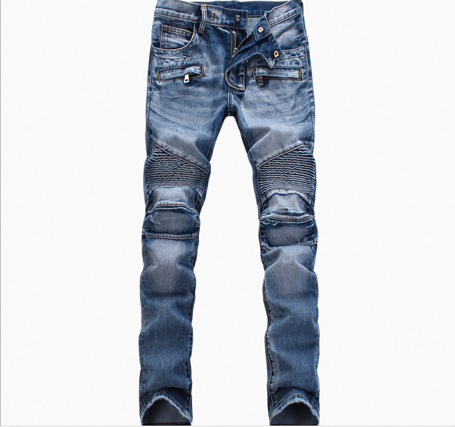 Free Shipping Big Size 7xl 8xl Plus Size Trousers Highly Elastic Silm Pants Jeans Military Men Hiphop Mens Skinny Wrinkle