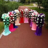 Wedding Road lead frame wedding lead frame, bracket, holder, support wedding columns wedding decorations.sent via EMS