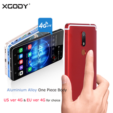 XGODY D22 4G LTE Smartphone 5.5 Inch Fingerprint Quad Core 2GB RAM 16GB ROM Celular Android 7.0 13MP Dual SIM Card Mobile Phone