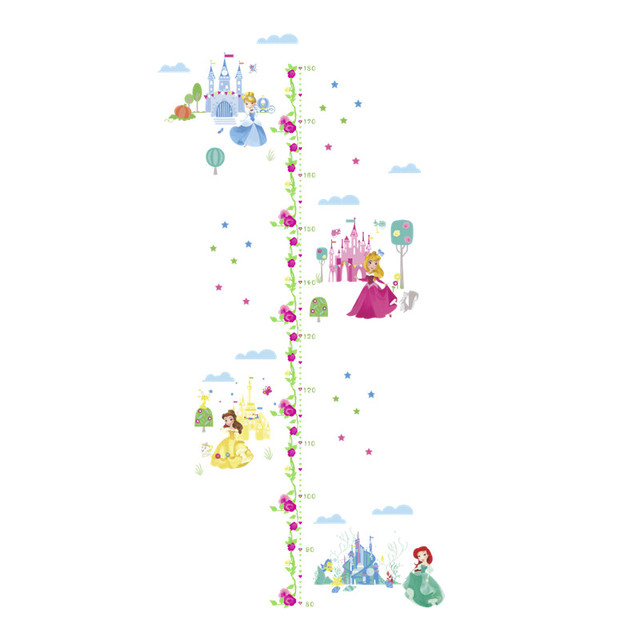 Fairies Growth Chart Growth Ruler Decal Girls Growth Chart Height Chart Sticker Kids Height Chart Fairies Height Chart Decal