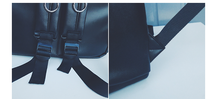 Menghuo 2017 marca mochila preto mulheres mochilas