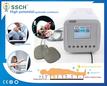 Physiotherapy instrument high potential electrostatic therapy