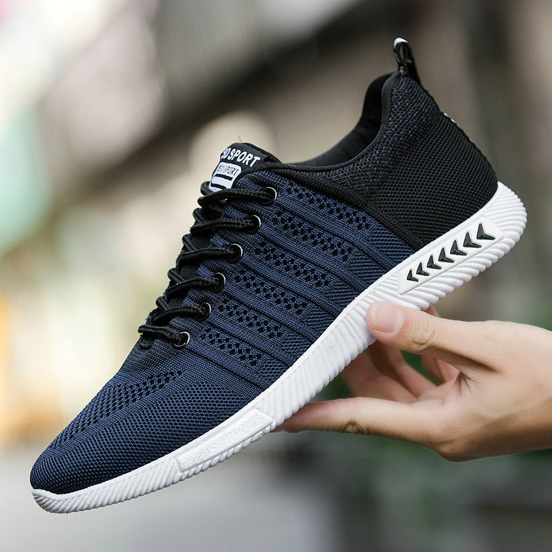 Size 44 New Arrival Men Running Shoes Lace Up Sport Shoes Outdoor Walking Activities Sneakers Comfortable Athletic Shoes For Men forudesigns kids sport shoes boys girls for children walking cycling running nebula pringting lace up sneaker shoes outdoor
