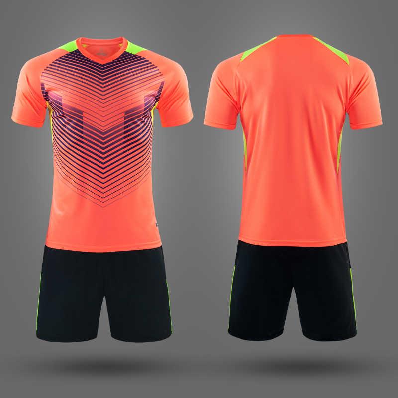 1b9d0031534 ... Survetement Football 2019 New Kids Men Soccer Jerseys Set Blank Soccer  Team Training Suit Breathable Short
