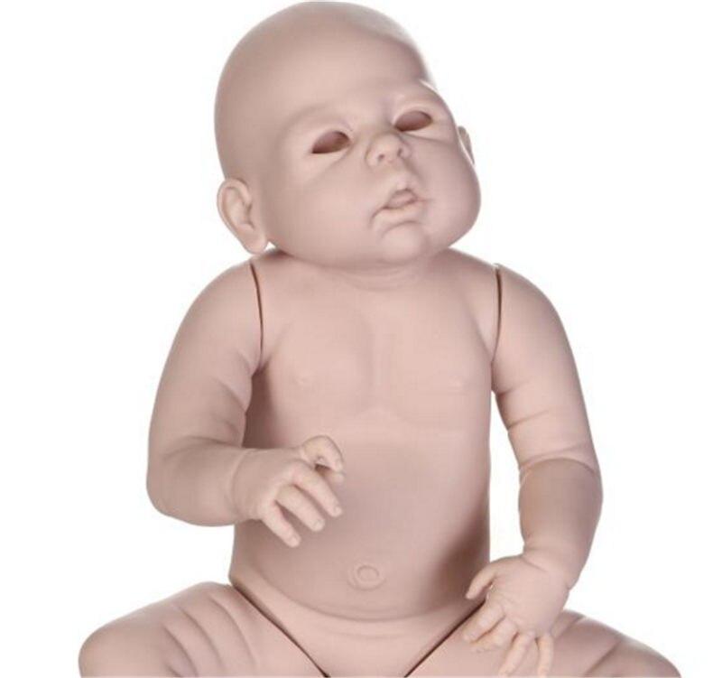 NPK 23 インチ約 58 センチメートルリボーン Bebes 人形キット塗装ブランク人形 Diy の人形解剖学的に正確胴体フル手足  グループ上の おもちゃ & ホビー からの 人形アクセサリー の中 3