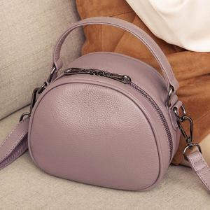 Image 3 - حقيبة جلدية أصلية موضة حقائب كروسبودي للنساء حقيبة كتف السيدات الصغيرة الفاخرة الإناث حقيبة يد محفظة حمل