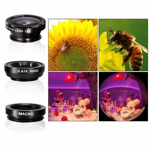 Image 3 - Top Travel Kit 10in1 Accessories Phone Camera Lens Kit Telescope For iPhone X 6 7 8 Plus Samsung Galaxy NOTE XIAOMI Smartphone