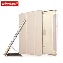 Case for Apple ipad mini 1 2 3 ultrathin flip three foldings stand PU leather tablet PC Cover shell capa coque for ipad mini 2 цена 2017
