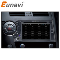 Eunavi 7 Quad Core 2 Din Android 7 1 Car DVD For Ssang Yong SsangYong Kyron
