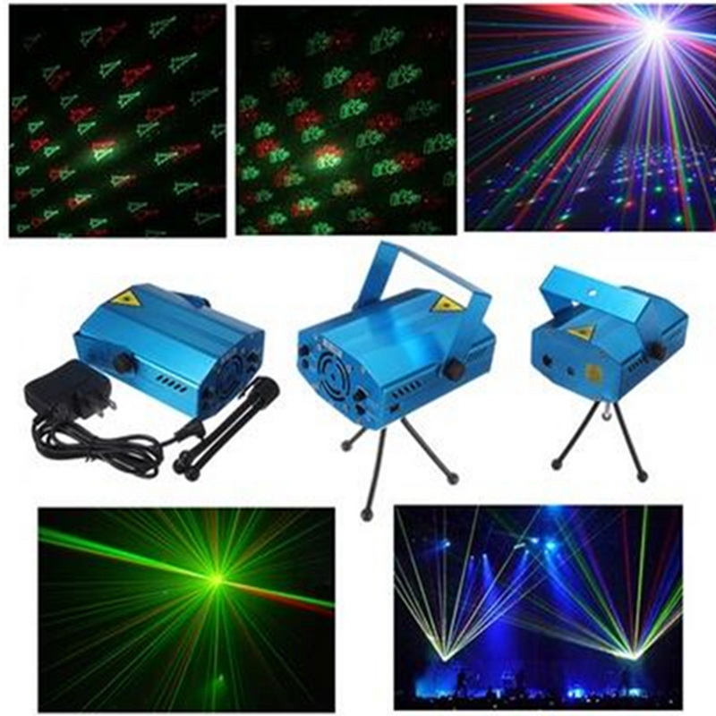Mini Laser Stage Music Lighting Voice Control Disco Party Pub Led Laser Stage Light Lamp Projector DJ Equipment игрушка технопарк камаз эвакуатор sb 17 24 j wb