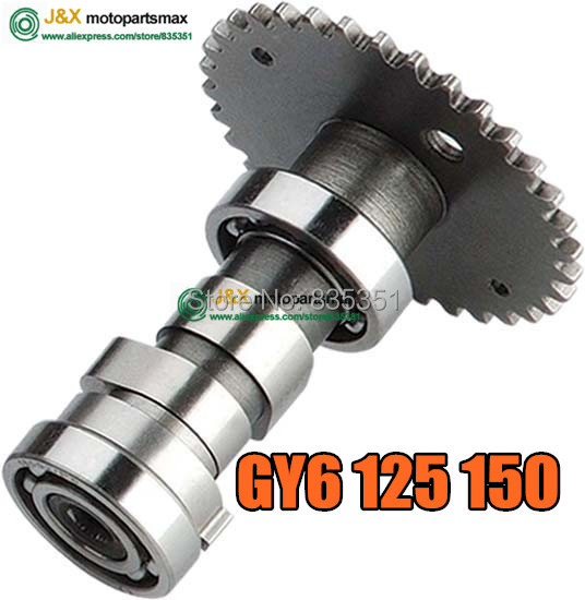 SCOOTER MOPED PARTS GY6 125CC GY6 150CC GY6 RACING PERFORMANCE CAMSHAFT 157QMJ 152QMI ENGINE