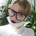 Hombres Mujeres Retro Gran Marco Cuadrado Grande Lente Transparente Unisex Plástico Negro Nerd Gafas Gafas #11523