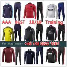 0d983b11ed4c1 17 18 19 AAA training suit atletico psg soccer tracksuit madrides chelseas  city france reals survetement football barcelonaes