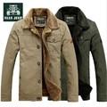 Nian AFS JEEP de la cachemira Inner espesor Man ' s abrigo de invierno, grande cuello de piel 100% del algodón de rusia hombres de carga de invierno abrigos chaquetas de lana