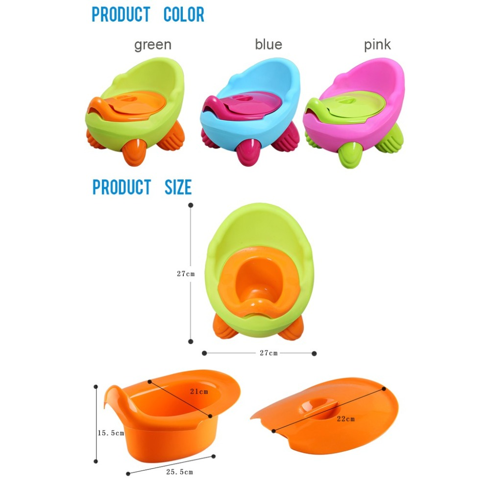 Baby Toddler Potty Toilet Trainer Safety Chair Step with Adjustable Ladder Infant Toilet Folding Portable WC Toilet Urinal Seat5