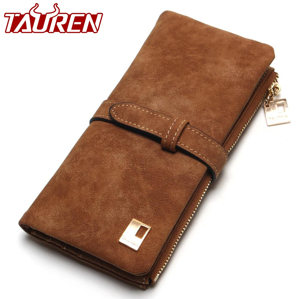2018 New Fashion Women Wallets Drawstring Nubuck L...