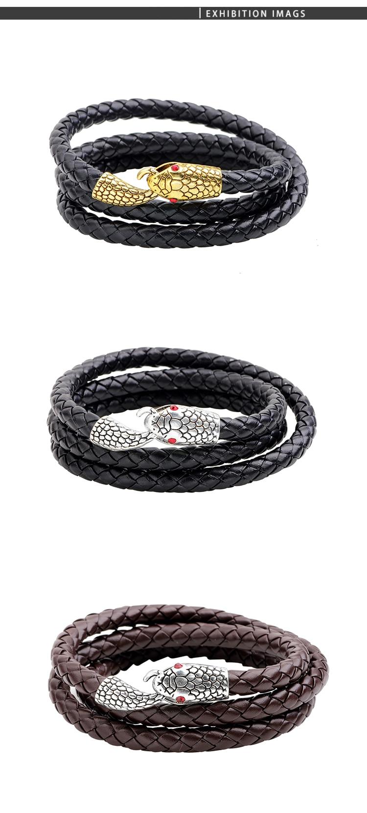 charm snake bracelets (6)