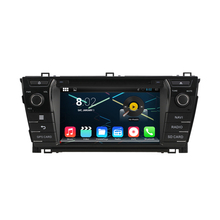 Octa Core 1024*600 Android 6.0 Car DVD GPS Navigation Multimedia Player Car Stereo for Toyota Corolla 2014 Radio with 3G Wifi