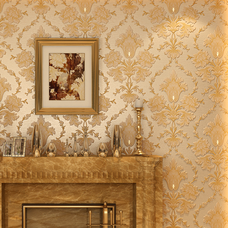beibehang European diamonds Papel de parede 3d wallpaper for wall paper home decor papier peint papel contact roll wallpaper-3d