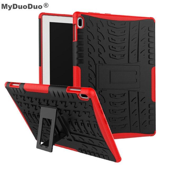 Новый чехол на lenovo Tab 4 10 TB-X304L TB-X304F TB-X304N Броня Твердый переплет Heavy Duty 2 в 1 гибридный прочный TPU + PC Планшеты Shell