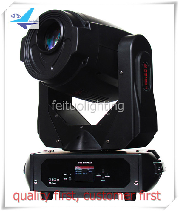 Free shipping 6 lights + cases 180W LED Moving Head 3 prism Spot Light Stage Theater Disco dj Nightclub