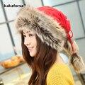 Новые Зимние Женщины Многофункциональный Вязаный Шарф Шляпа Высокое Качество Утолщенным Теплый Полиэстер Шапочки Повседневная Монгольской Cap Свободный Размер