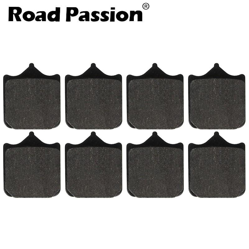 Road Passion Motorcycle Front Brake Pads For DUCATI 996 998 R (998cc) S Baylis/Bostrom 999 Std Caliper Mount Monoposto/Biposto