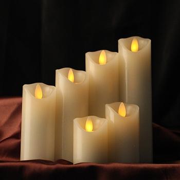 Świec bezbarwnych świec woskowych led świeca bożonarodzeniowa światła dostaw świece ślubne urodziny oświetlenie na imprezę nowy rok dekoracji światła led tanie i dobre opinie SEM20181104-A1 Bezpłomieniowe Świeca lampy Filar Świeczka led surmaye Stron Parafina 5 3cm 7 5 10 12 15 18 20cm option