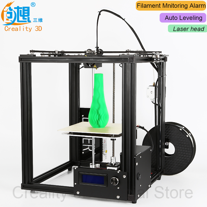 Core-XY structure !!!CREALITY 3D Ender-4 Auto Leveling 3D Printer Laser Head 3D printer Kit Filament Monitoring Alarm Potection kam xy laser rbp