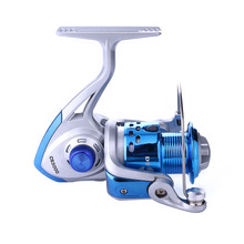 CS1000-7000 5.2:1 8BB Spinning Casting Fishing Reel Sea Fishing Rod Wheel Lure Fishing Tackle Left/Right Blue Reel Fishing Gear sougayilang feeder spinning fishing reel china left right reel fishing gear coil 12 1 ball bearing metal sea fishing reel peche