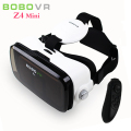 BOBOVR Z4 MINI VR Headset Virtual Reality Glasses Helmet Mobile 3D Movie Glasses Cardboard For iPhone/LG 4.7- 6 Phone + Gamepad