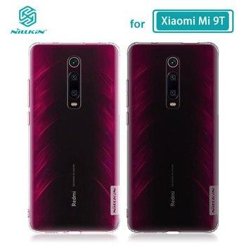 Étui TPU pour Xiaomi mi 9T Pro boîtier Nillkin Nature Transparent doux silicone couverture souple pour Xiaomi mi 9T Pro étui