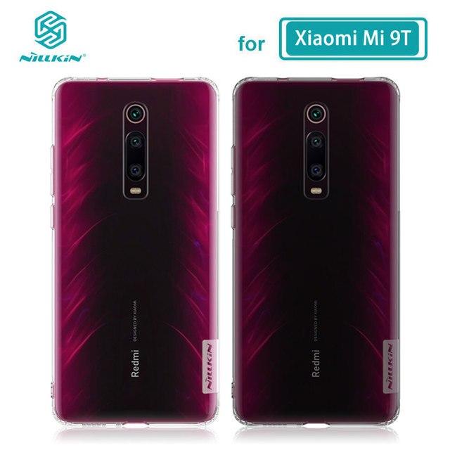 Caso di TPU per Xiaomi mi 9 t pro INVOLUCRO Nillkin Natura Trasparente Trasparente Molle Del Silicone Soft Cover Per Xiaomi mi 9 t pro CASO