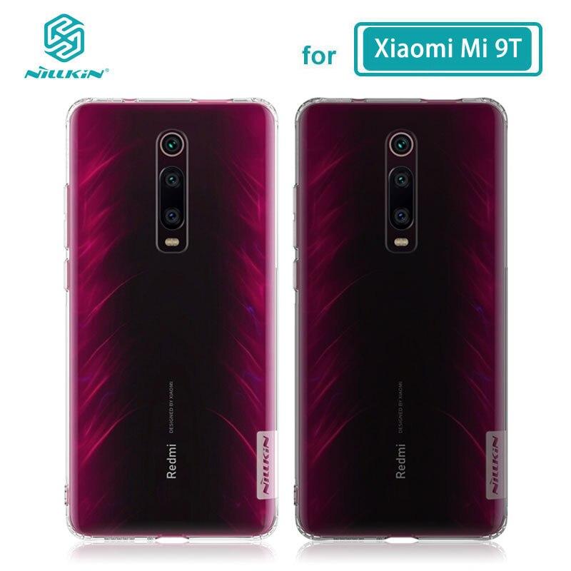 TPU Case for Xiaomi Mi 9T Pro Casing Nillkin Nature Transparent Clear Soft Silicon Soft Cover Innrech Market.com