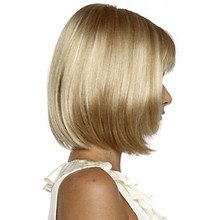 Women Synthetic Full Bob Hairstyle Wigs