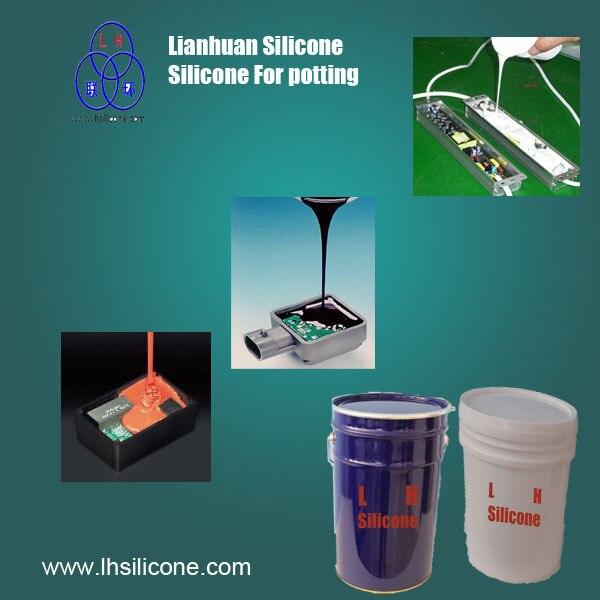 Lianhuan RTV2 смолы силиконовый герметик теплопроводностью герметичные соединения для электронных