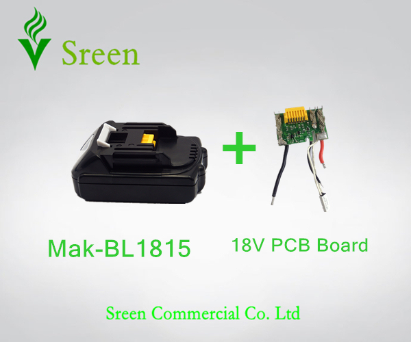 New Spare Lithium Ion PCB Circuit Board With 18V 1500mAh BL1815 Replacement for Makita LXT400 Power_640x640 aliexpress com buy new spare lithium ion pcb circuit board with  at edmiracle.co