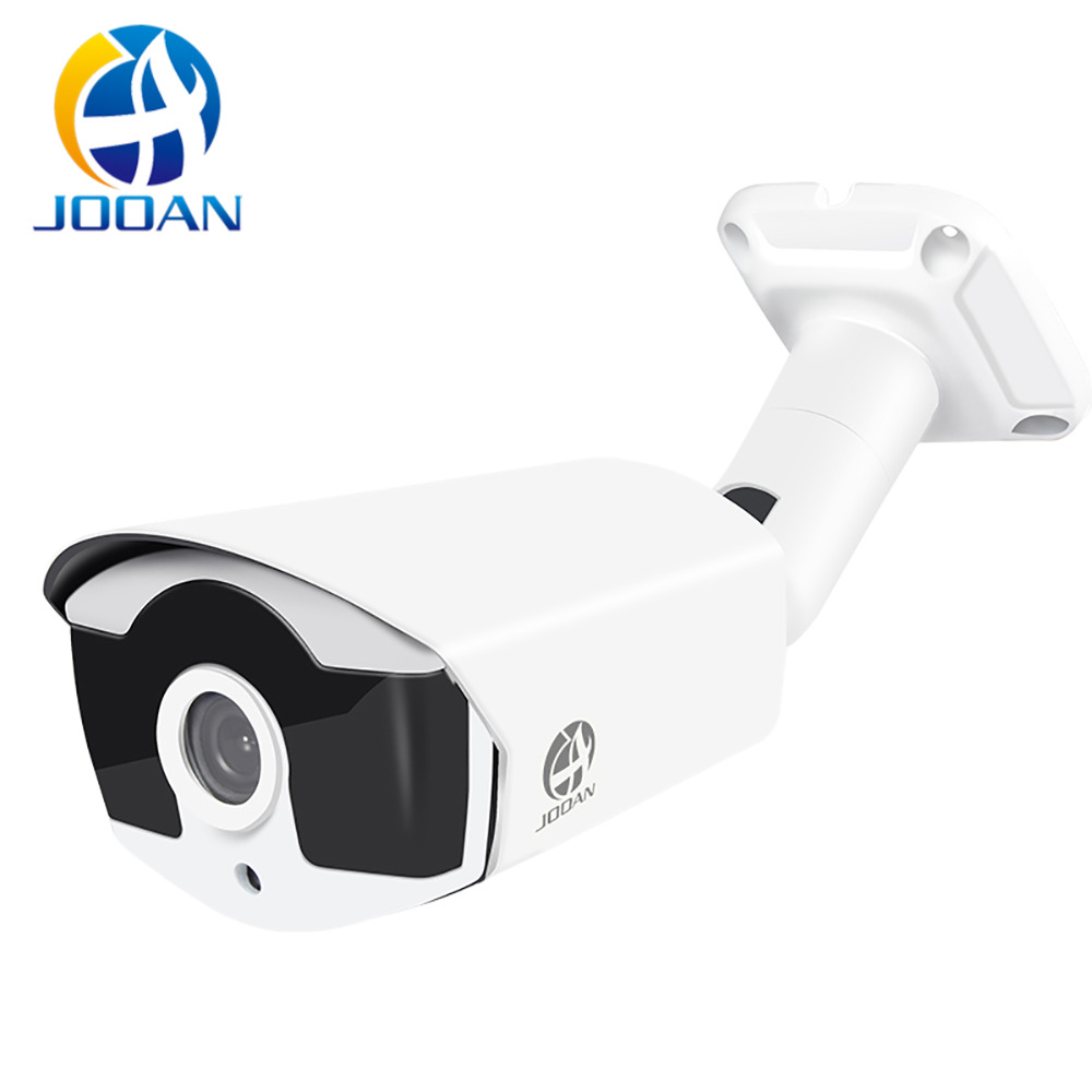 Jooan IP Camera PoE 2MP 1080P HD Outdoor Waterproof Infrared Night Vision Camera Security Video Surveillance CCTV Camera 4 LED escam qf508 ip camera 128g 1080p 2mp waterproof outdoor full color night vision security camera infrared bulllet camera