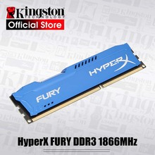 Originale Kingston HyperX FURY 8GB 1866MHz 240-Spille DDR3 CL10 DIMM Intel di Gioco di Memoria Per Desktop PC 8G-blu Serie
