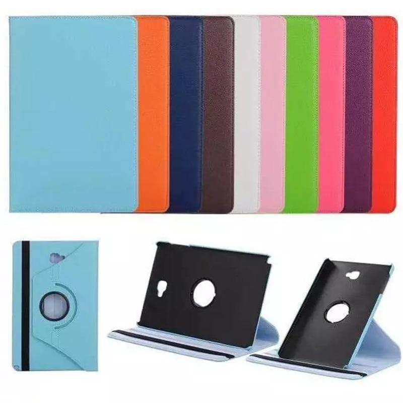 360 Rotating Case for Samsung Galaxy Tab A 10.1 2016 P580 P585 Stand Cover PU Leather Case for Samsung Tab A6 10.1 T580N T580N