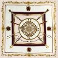 Версия Весной и Осенью пункт дикий цвет шелка диких женской моды полиэстер цветы Дизайн 60x60 см квадратный шарф
