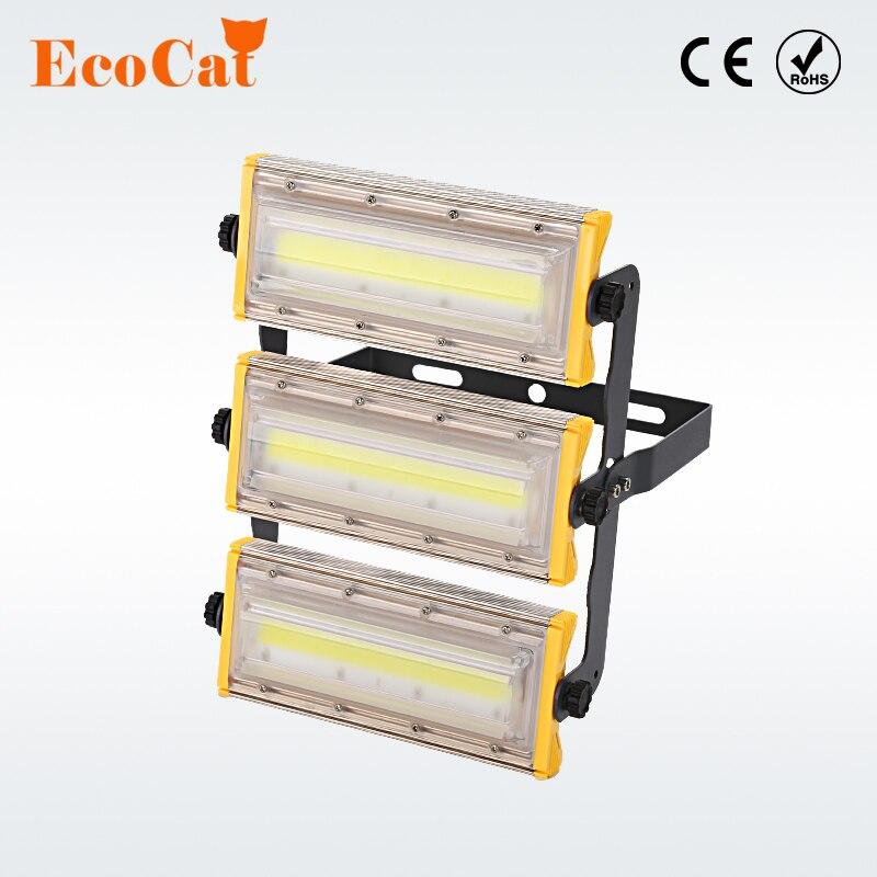 ECO Cat IP65 Waterproof LED floodlight 50W 100W 150W flood light AC 230V 220V spotlight outdoor lighting for Gargen wall Lamp