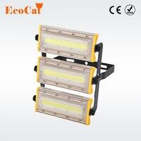 ECO Cat IP65 Waterproof LED Floodlight 50W 100W 150W Flood Light AC85 265V Spotlight Outdoor Lighting