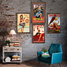 Metal Sign Bar Wall Decoration Tin Vintage Poster Home Decor Painting Plaques Art Poste 1001(623)